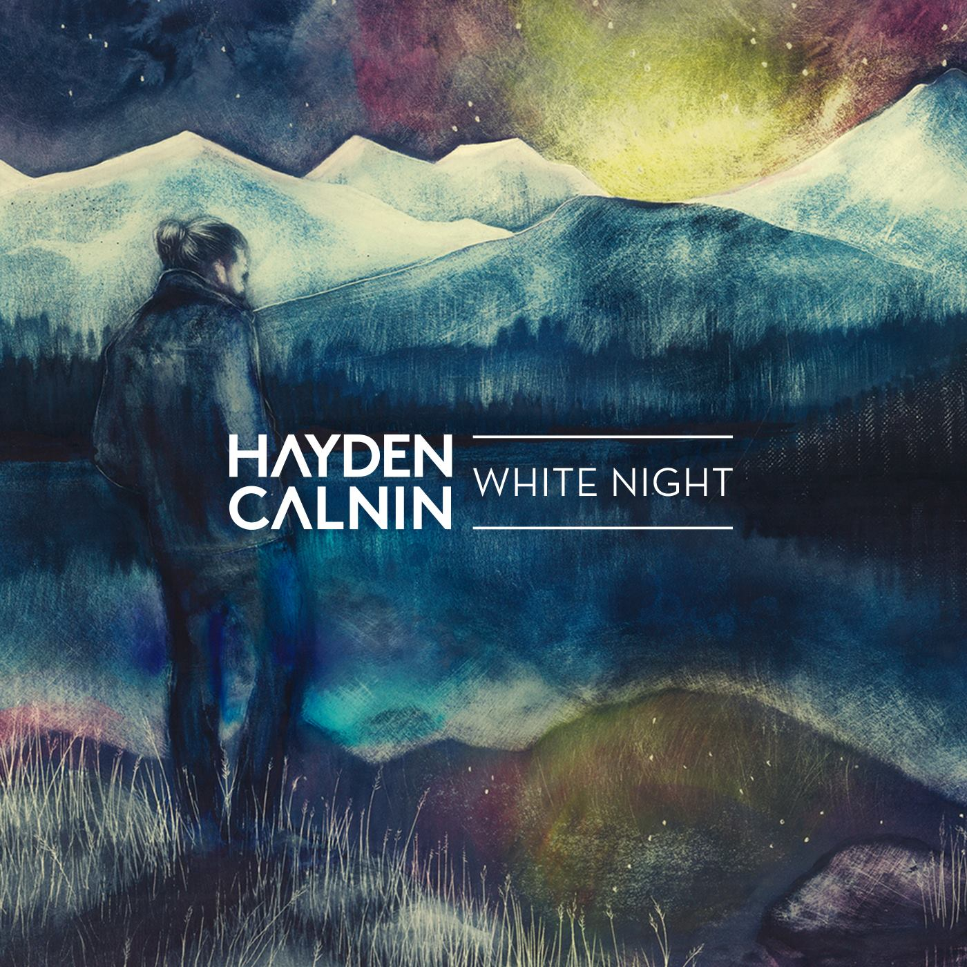 """Hayden Calnin's single """"White Night"""" from his forthcoming debut album produced by Tim Carr and mastered by Andrew Edgson"""